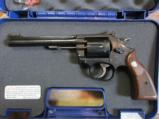 Smith and Wesson Model 17 .22 LR classic revolver CTG - 1 of 14