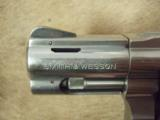 Smith & Wesson S&W 60-9 5-shot revolver, .357 mag, 2.125 - 3 of 9