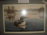 Terrill Knaack Loon on a Lake Limited Edition #497 - 3 of 3