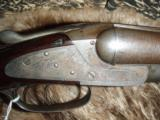 L.C. Smith Side by Side Damascus 12 gauge - 1 of 7