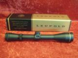 Leupold New in Box VX-2 3-9x40mm Matte Duplex