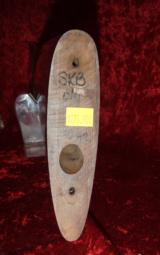 SKB 20 ga. Over/Under Model 500, 600, 700 Stock W/O Butt PlateV - 8 of 8