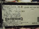Browning Model 81 BLR .7mm/08 cal NEW in Box REDUCED PRICE! - 6 of 9