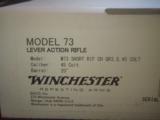 Winchester Model 1873 Short Rifle 45Colt Case Color Hardened - 2 of 6