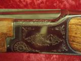 "Charles Daly BC Miroku O/U 20 ga. 26"" VR Nice Hand Engraving with same design as the Browning Superposed - 3 of 13"