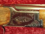 "Charles Daly BC Miroku O/U 20 ga. 26"" VR Nice Hand Engraving with same design as the Browning Superposed - 4 of 13"