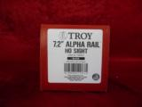"TROY 7.2"" ALPHA RAIL-NO SIGHT-FOR AR15/M4 CARBINES - 5 of 7"