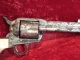 Colt SAA 1901 Gen 1 .38/40 Revolver Factory Engraved, 4 3/4 - 4 of 6