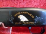 Winchester Model 12 Angelo Bee Custom Engraved Charity 20 ga