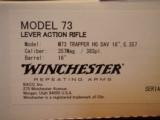 Winchester 1873 Deluxe Trapper Limited Series 1 of 101 .357 mag 16