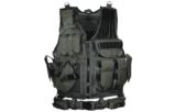 UTG 547 Law Enforcement Tactical Vest, Left Handed, Black