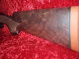 "*On Sale* Winchester Model 70 LW Super Grade BA Rifle 7x57 cal22"" Grade IV Walnut - 6 of 12"