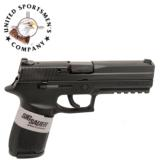 Sig Sauer P250F, 9mm, Black, Sig Night Sights, 17 Round - 1 of 1