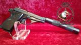 Beretta model 71 .22lr with faux suppressor