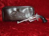 """Freedom Arms Mini Revolver .22 mag 3"""" barrel 4-shot Casull's Improvement w/soft case"""