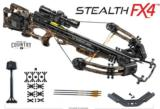 TENPOINT CROSSBOW KIT STEALTH FX4 ACU DRAW 370FPS MOBU NEW IN BOX
