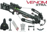 TENPOINT CROSSBOW KIT VENOM XTRA ACU DRAW 372FPS BLACK LAM NEW IN BOX