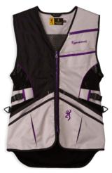 Browning Ace Shooting Vest for Her, Purple RIGHT HANDED NEW IN BOX