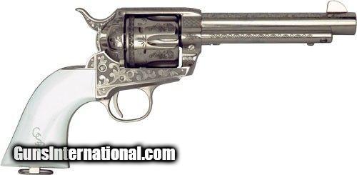 Cimarron Firearms Co  George Patton V1  45 Long Colt 6-Shot Revolver
