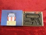 Honor Defense Honor Guard Model HG9SC semi-auto pistol 9 mm, 2 mags NEW in box!!