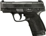 HONOR GUARD SUB COMPACT 9MM FS 7-SHOT BLACK POLYMER SEMI AUTO LUGER PISTOL