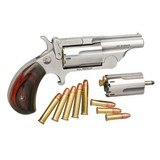"North American Arms Mini-Revolver Ranger II .22lr/.22wmr 1 5/8"" bbl SS/Rosewood Grips Break-Top NEW!"