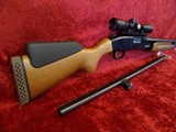 "Mossberg Youth 20ga Combo Cantilever Scope , Field 24"" , Ported , Gold Trigger"