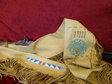 Traditions Hawkens Deer Pelt-Hide Case Combo .50 BP Beaded Fringed Leather - 13 of 13