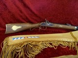 Traditions Hawkens Deer Pelt-Hide Case Combo .50 BP Beaded Fringed Leather - 12 of 13