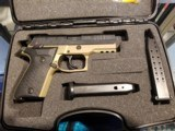 """FIME Rex Zero 1CP semi-auto pistol 9 mm 3.85"""" bbl 15-round FDE/Black #601864 NEW in Box!--In Stock!! - 2 of 2"""