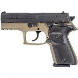 "FIME Rex Zero 1CP semi-auto pistol 9 mm 3.85"" bbl 15-round FDE/Black #601864 NEW in Box!"