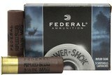 "Federal Power-Shok Ammunition 10 Gauge 3-1/2"" 1-3/4 oz Hollow Point Rifled Slug--50 count case"