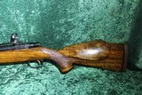 "Custom Belgium FN Mauser bolt action rifle .300 win mag 24"" bbl w/muzzle break NICE WOOD!"