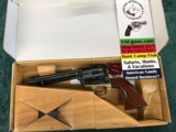 "Uberti Stallion Revolver .22 lr 5.5"" 6-shot #343090 w/box & paperwork - 1 of 7"
