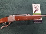 Ruger No. 1 Stainless RARE 7.62x39 cal NEW unfired in Box!!LOWER PRICE!! - 3 of 13