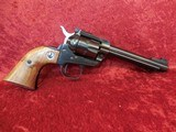 "Ruger Single Six (Old Model) 3-screw .22 lr/.22 mag 5.5"" barrel wood grips w/box - 4 of 20"
