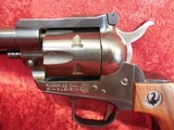 "Ruger Single Six (Old Model) 3-screw .22 lr/.22 mag 5.5"" barrel wood grips w/box - 12 of 20"