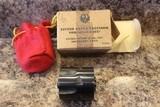 "Ruger Single Six (Old Model) 3-screw .22 lr/.22 mag 5.5"" barrel wood grips w/box - 16 of 20"