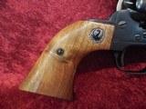 "Ruger Single Six (Old Model) 3-screw .22 lr/.22 mag 5.5"" barrel wood grips w/box - 5 of 20"