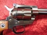 "Ruger Single Six (Old Model) 3-screw .22 lr/.22 mag 5.5"" barrel wood grips w/box - 6 of 20"