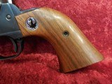 "Ruger Single Six (Old Model) 3-screw .22 lr/.22 mag 5.5"" barrel wood grips w/box - 11 of 20"