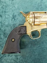 """Colt Single Action Army 2nd Generation .38 special 5.5"""" bbl GOLD - 3 of 8"""
