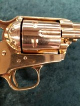 """Colt Single Action Army 2nd Generation .38 special 5.5"""" bbl GOLD - 2 of 8"""
