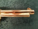 """Colt Single Action Army 2nd Generation .38 special 5.5"""" bbl GOLD - 4 of 8"""