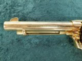 """Colt Single Action Army 2nd Generation .38 special 5.5"""" bbl GOLD - 7 of 8"""