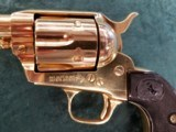 """Colt Single Action Army 2nd Generation .38 special 5.5"""" bbl GOLD - 6 of 8"""