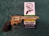 "Colt Single Action Army 2nd Generation .38 special 5.5"" bbl GOLD"