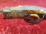 """Galazan Connecticut Shotgun Mfg. A-10 American, Rose & Scroll 12 gauge, O/U 28""""bbl w/case & Extras - 24 of 25"""