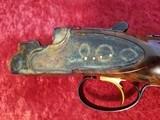 """Galazan Connecticut Shotgun Mfg. A-10 American, Rose & Scroll 12 gauge, O/U 28""""bbl w/case & Extras - 1 of 25"""
