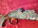 """Galazan Connecticut Shotgun Mfg. A-10 American, Rose & Scroll 12 gauge, O/U 28""""bbl w/case & Extras - 2 of 25"""